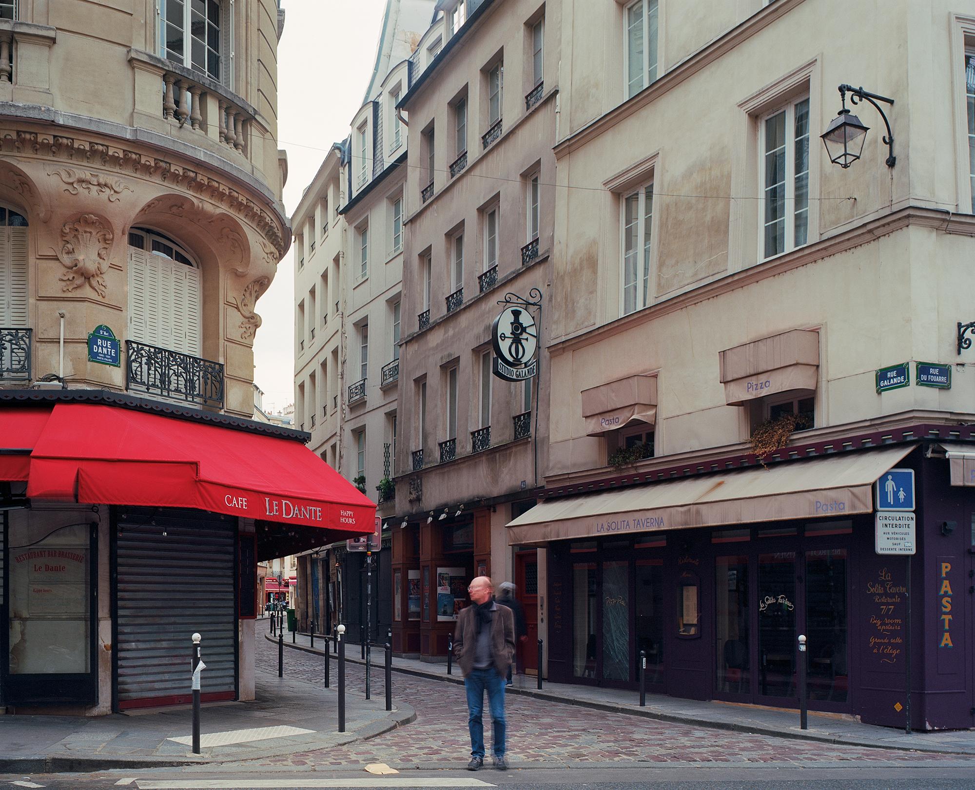 Rue Dante, Paris, mai 2020