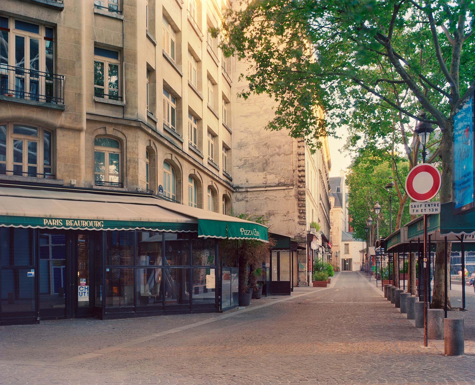 Rue Saint-Merri, Paris, mai 2020