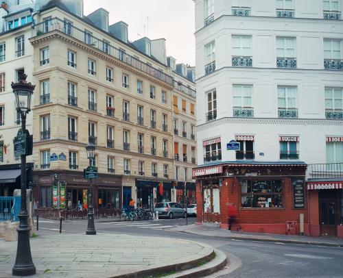 Place Larue, Paris, mai 2020