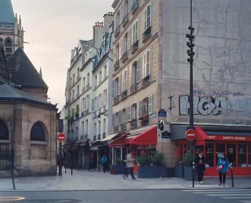 Rue du Petit Pont / Saint-Séverin, Paris, mai 2020
