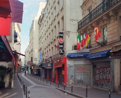 Rue de la Huchette, Paris, mai 2020