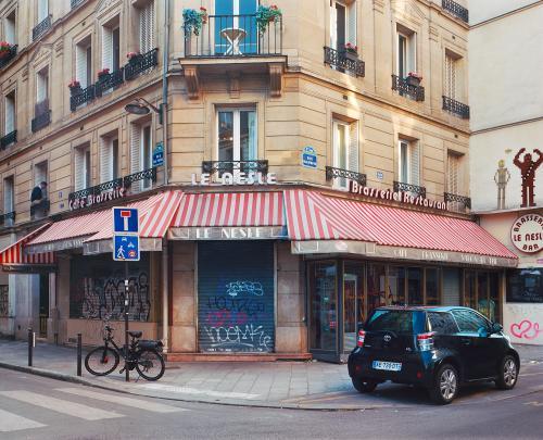 Rue Dauphine, Paris, mai 2020