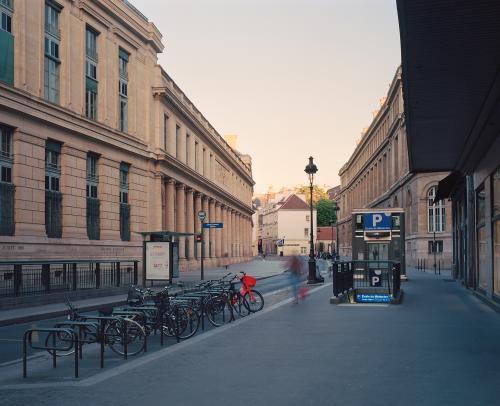 Rue de l'École de Medecine, Paris, mai 2020