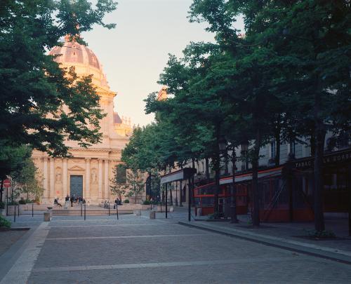 Place de la Sorbonne, Paris, mai 2020